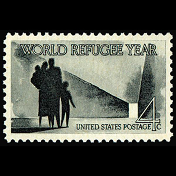 1960 4c World Refugee Year Mint Single