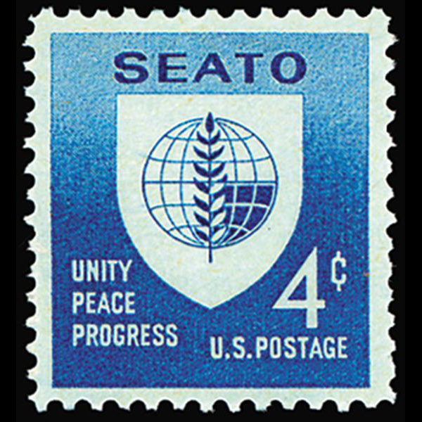 1960 4c SEATO Mint Single
