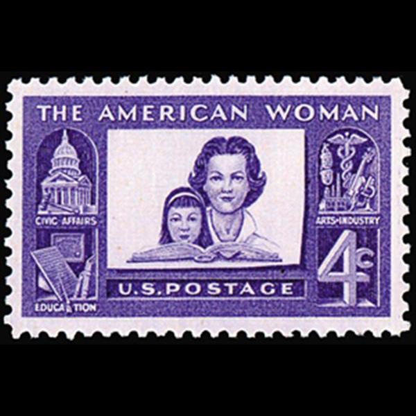 1960 4c American Women Mint Single
