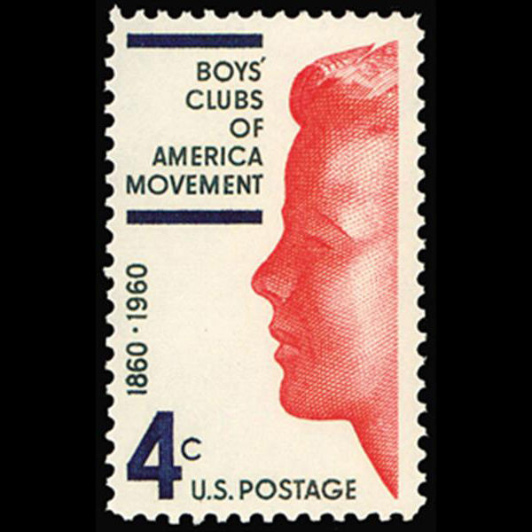 1960 4c Boy's Club of America Mint Single