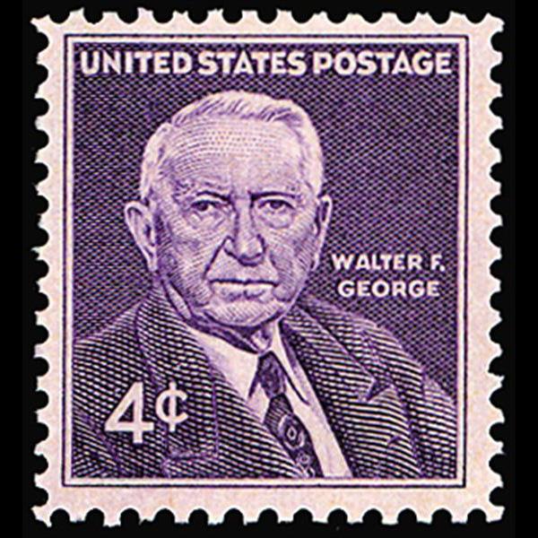 1960 4c Walter George Mint Single