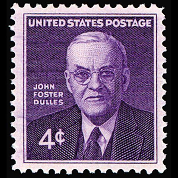 1960 4c John Foster Dulles Mint Single