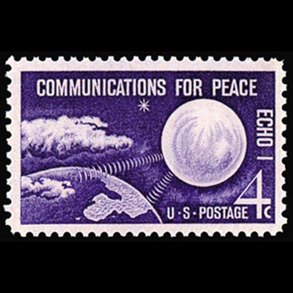 "1960 4c ""ECHO 1"" Satelite Mint Single"