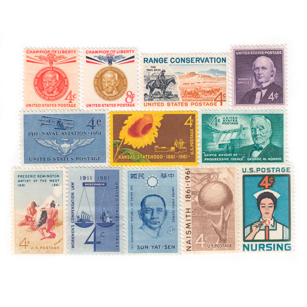 1961 Commemorative Mint Year Set