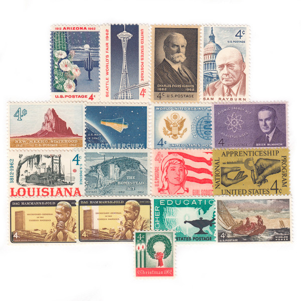 1962 Commemorative Mint Year Set