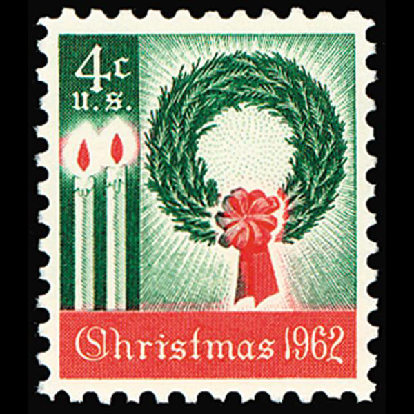 1962 4c Christmas Mint Single