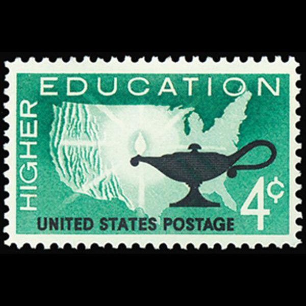 1962 4c Higher Education Mint Single