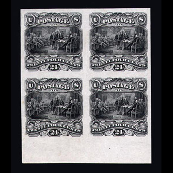1869 24c Pictorial Plate Essay