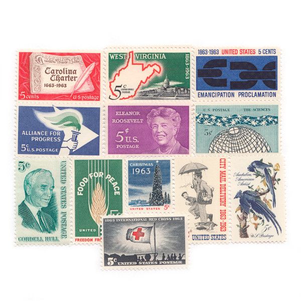 1963 Commemorative Mint Year Set