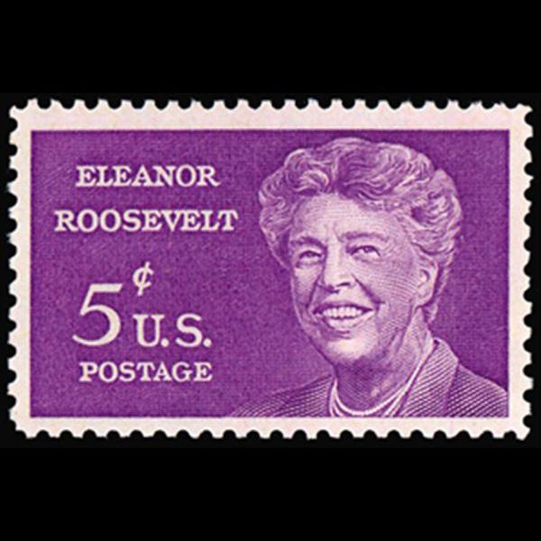 1963 5c Eleanor Roosevelt Mint Single