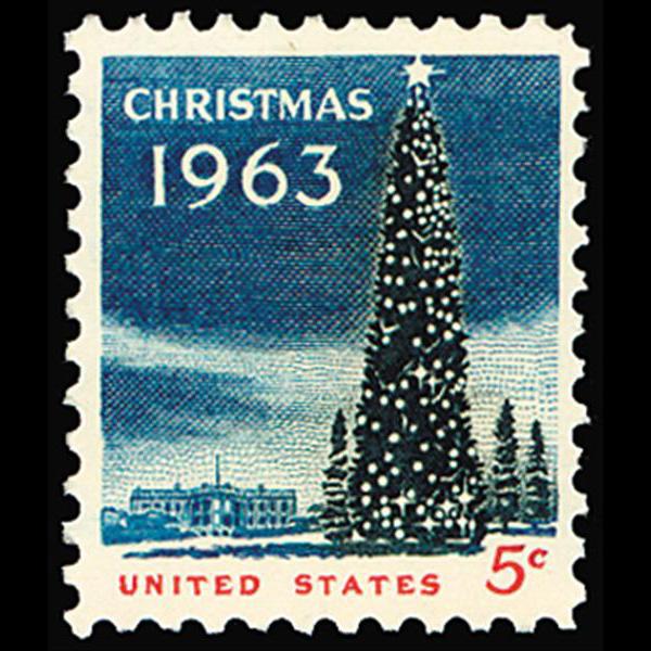 1963 5c Christmas Mint Single