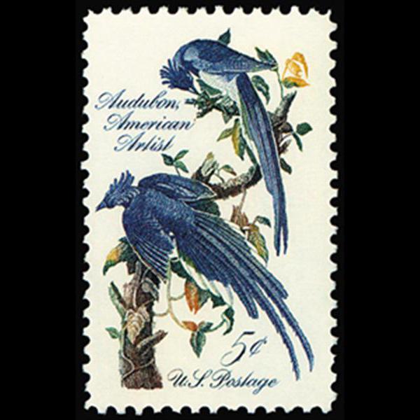 1963 5c John J. Audubon Mint Single