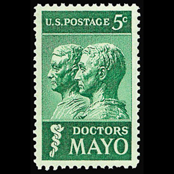 1964 5c Mayo Brothers Mint Single