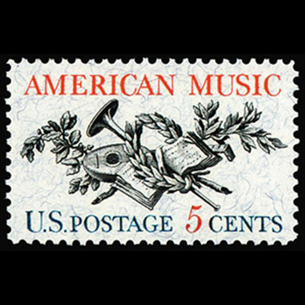 1964 5c American Music Mint Single