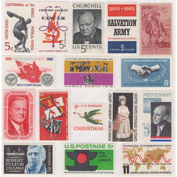 1965 Commemorative Mint Year Set