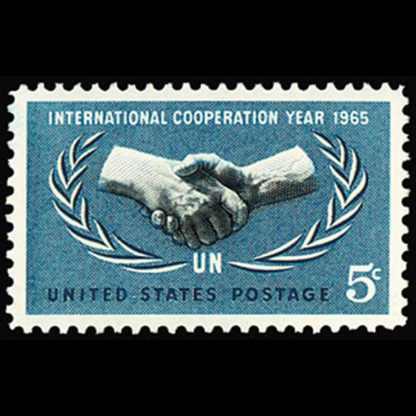 1965 5c International Cooperation Year Mint Single