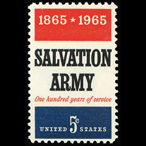 1965 5c Salvation Army Mint Single