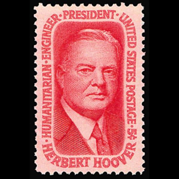 1965 5c Herbert Hoover Mint Single