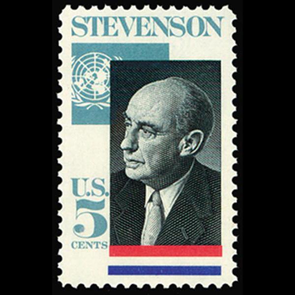 1965 5c Adlai Stevenson Mint Single