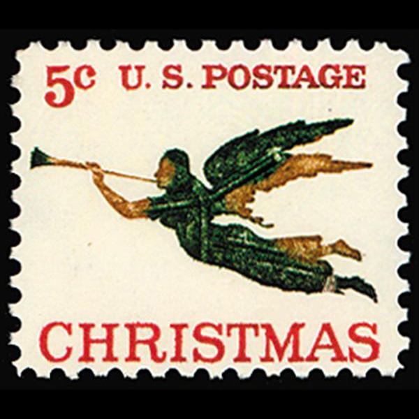 1965 5c Christmas Mint Single