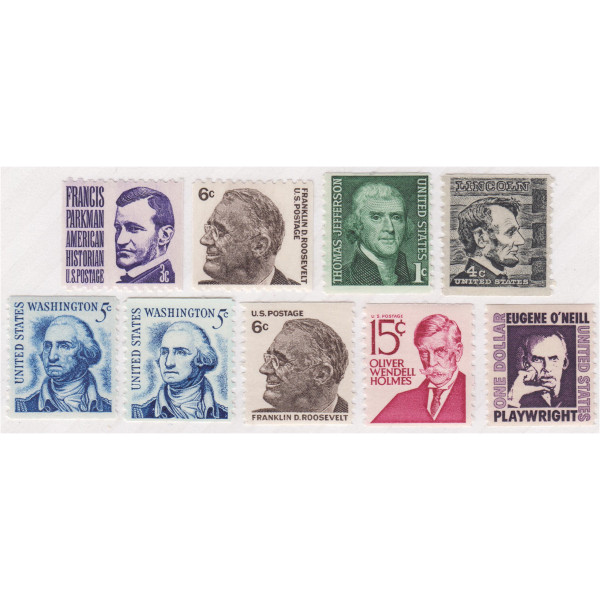 1966-81 Prominent American Coils, Mint