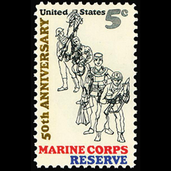 1966 5c Marine Corps Reserve Mint Single