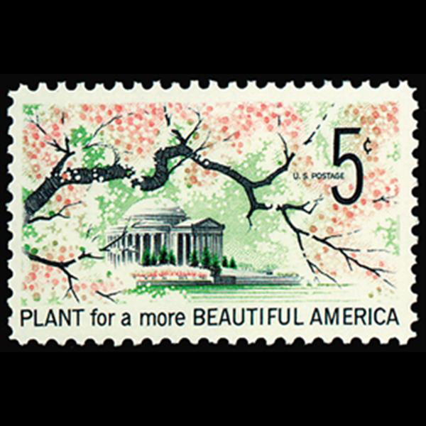 1966 5c Beautification Mint Single