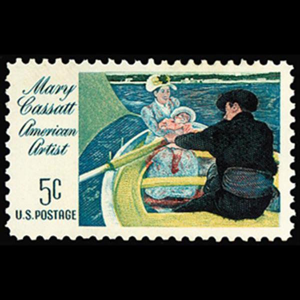 1966 5c Mary Cassatt Mint Single