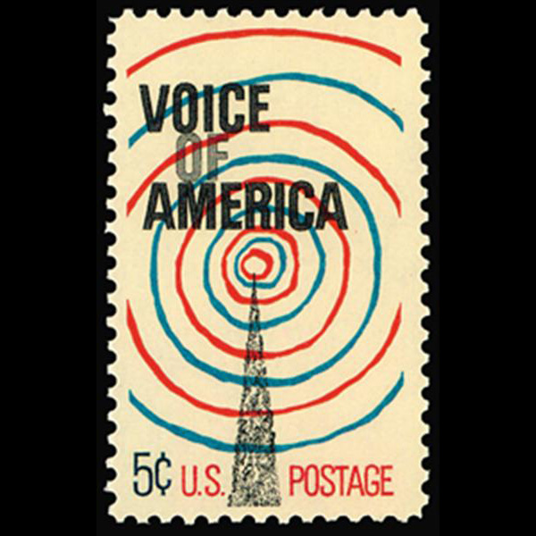 1967 5c Voice of America Mint Single