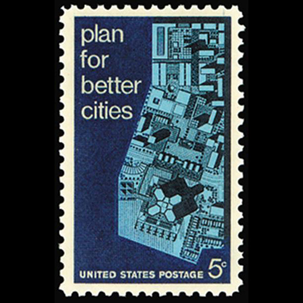 1967 5c Urban Planning Mint Single
