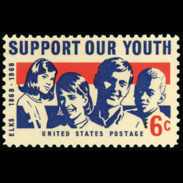 1968 6c Support our Youth Mint Single