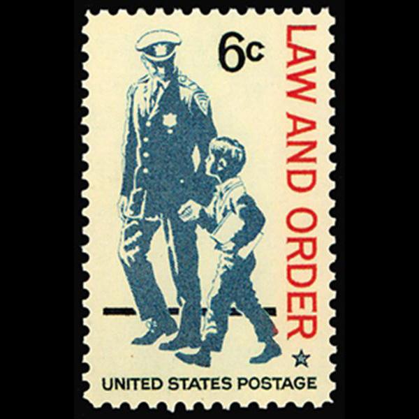 1968 6c Law & Order Mint Single