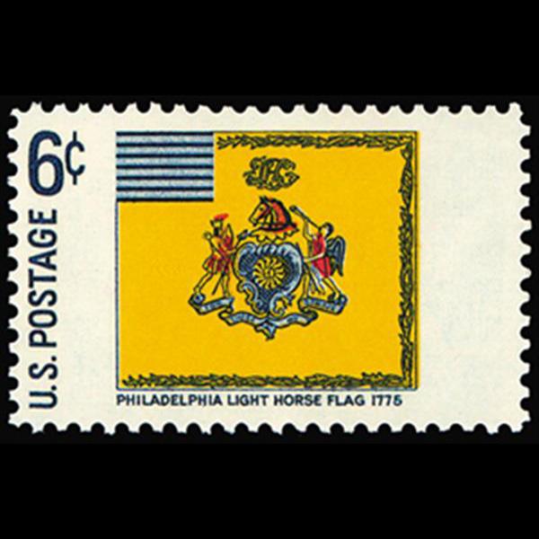 1968 6c Philadelpia Light House Mint Single