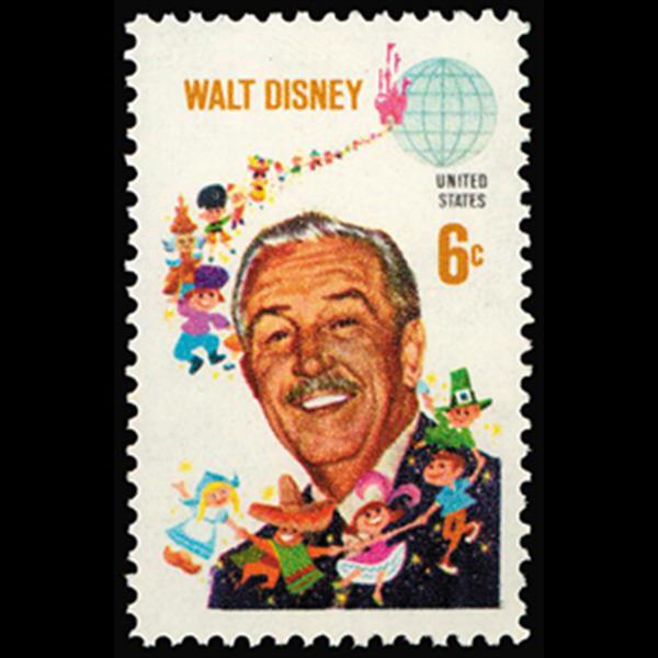 1968 6c Walt Disney Mint Single