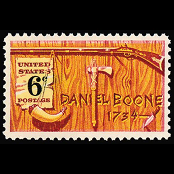 1968 6c Daniel Boone Mint Single