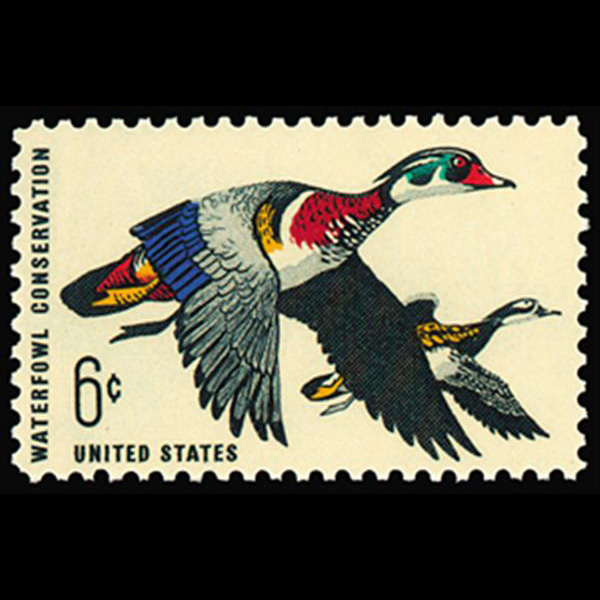 1968  6c Waterfowl Conservation Mint Single