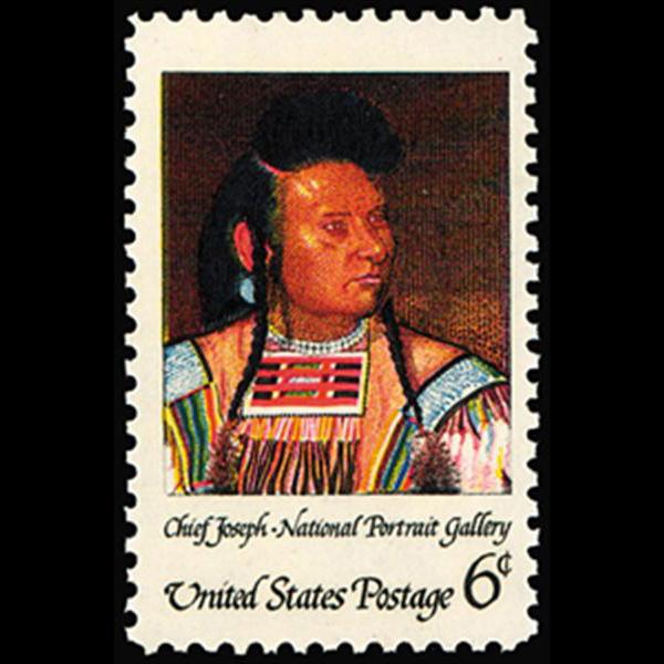 1968 6c Chief Joseph Mint Single
