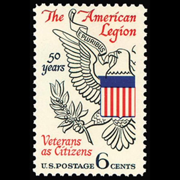 1969 6c American Legion Mint Single