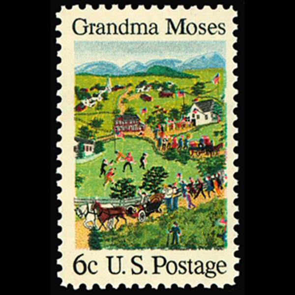 1969 6c Grandma Moses Mint Single