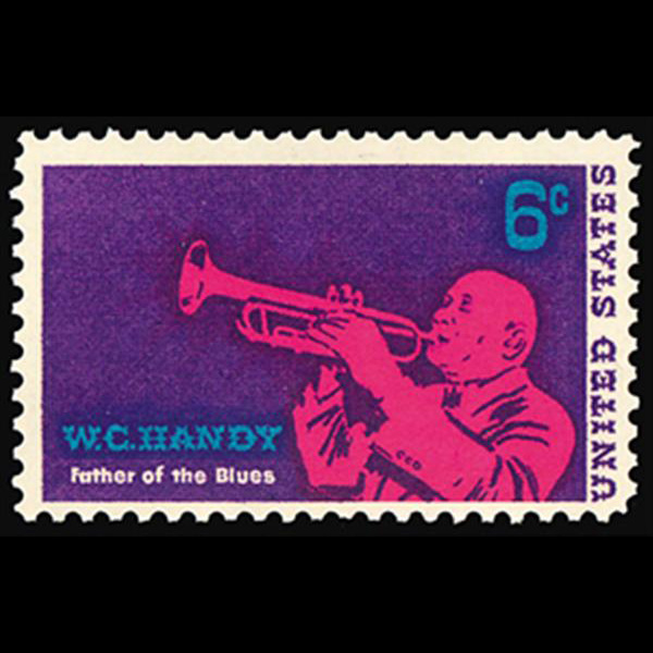 1969 6c W.C. Handy-Musician Mint Single