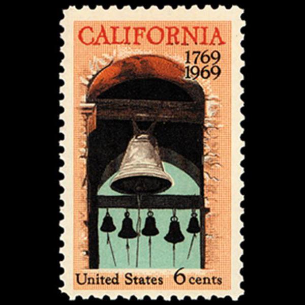 1969 6c California Settlement Mint Single