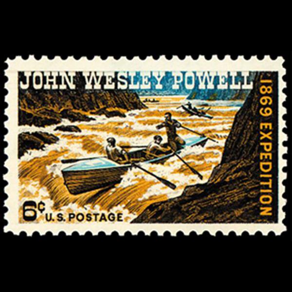 1969 6c Major J.W. Powell Mint Single