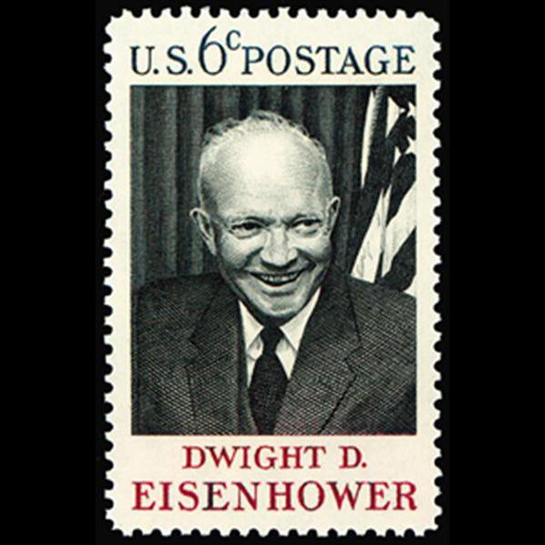 1969 6c Eisenhower Mint Single