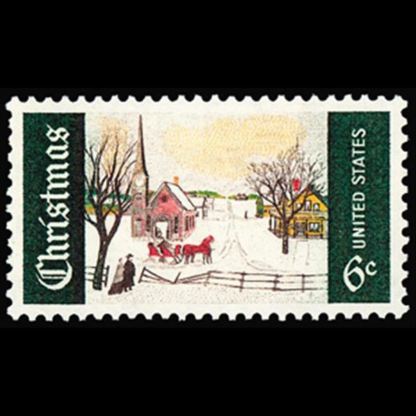 1969 6c Christmas Mint Single