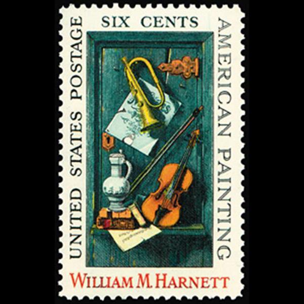 1969 6c Willliam M. Harnett Mint Single