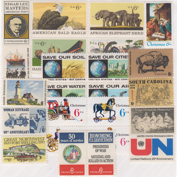 1970 Commemorative Mint Year Set