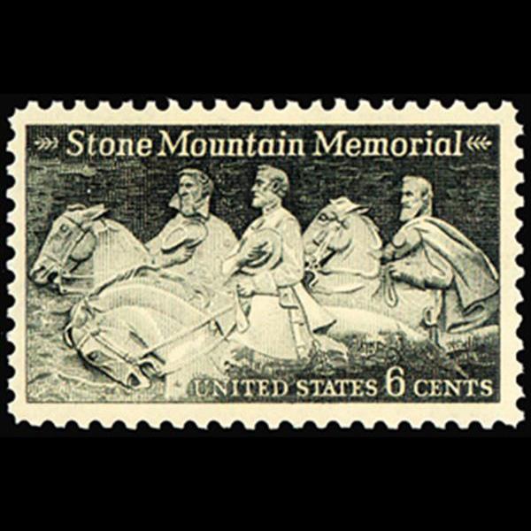 1970 6c Stone Mountain Memorial Mint Single