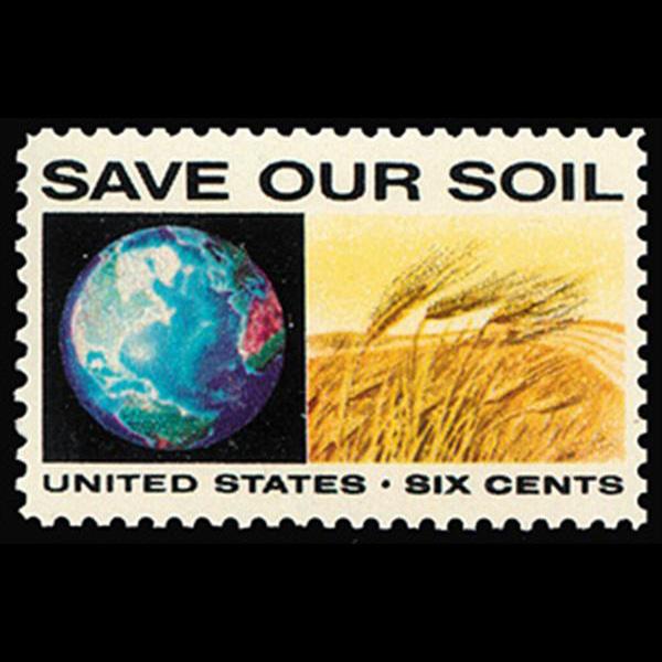 1970 6c Globe & Wheat Mint Single