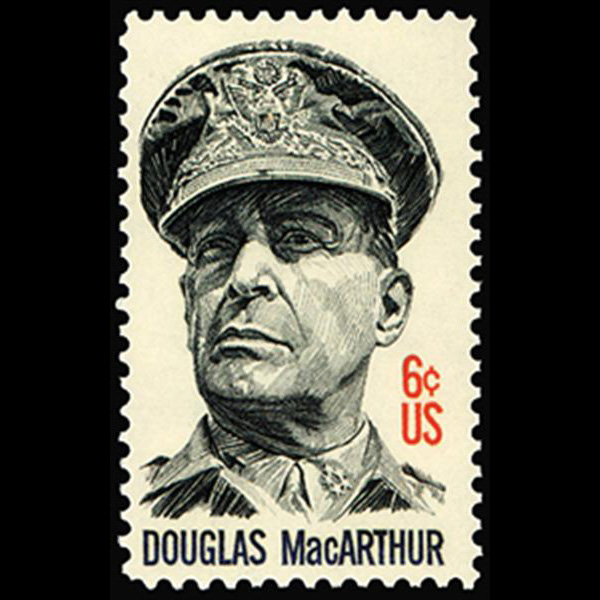 1971 6c General D. MacArthur Mint Single