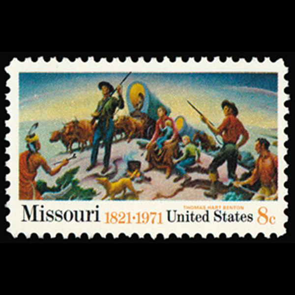 1971 8c Missouri Statehood Mint Single